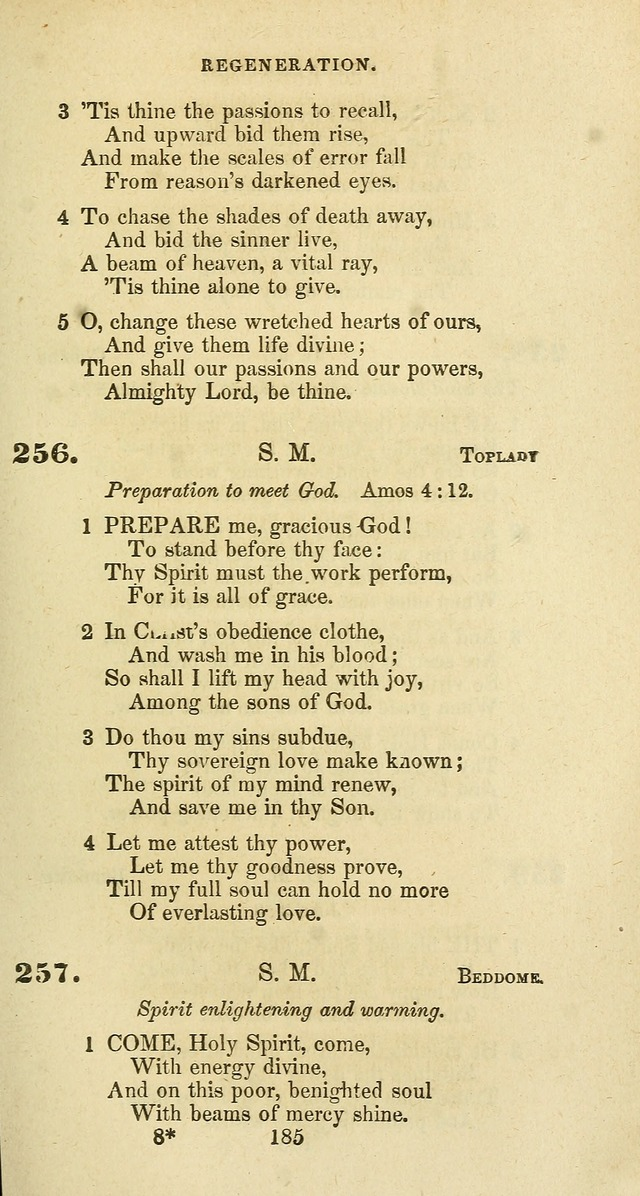 The Baptist Psalmody: a selection of hymns for the worship of God page 185