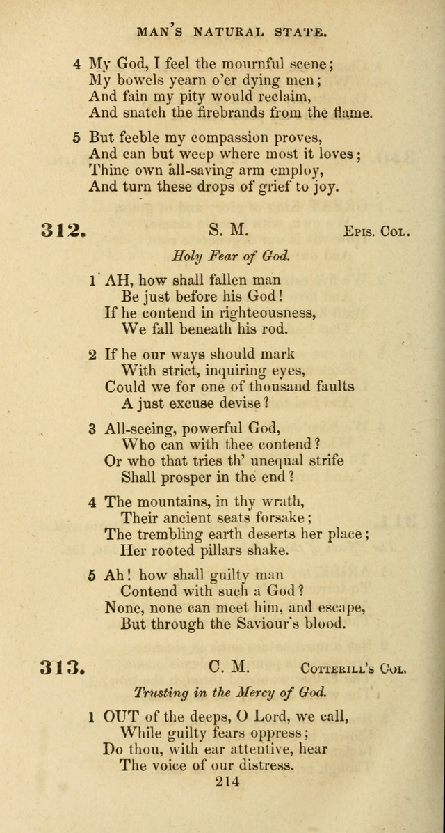 The Baptist Psalmody: a selection of hymns for the worship of God page 214