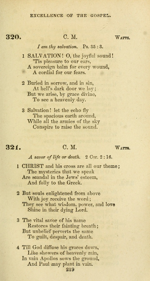 The Baptist Psalmody: a selection of hymns for the worship of God page 219