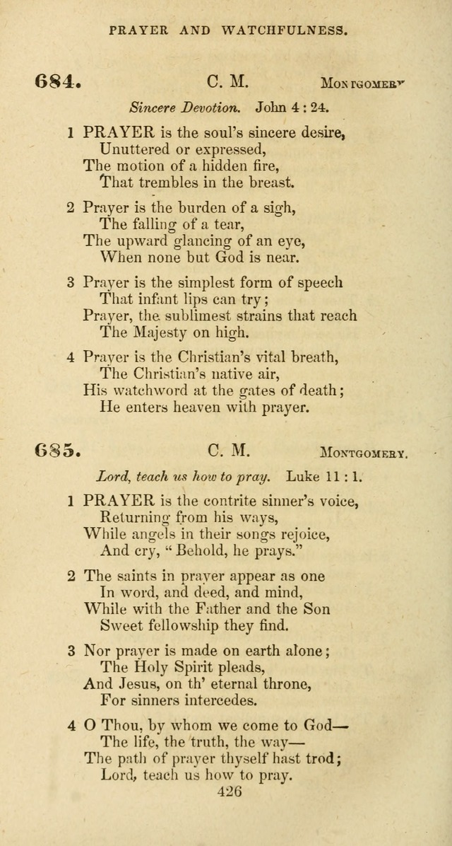 The Baptist Psalmody: a selection of hymns for the worship of God page 426