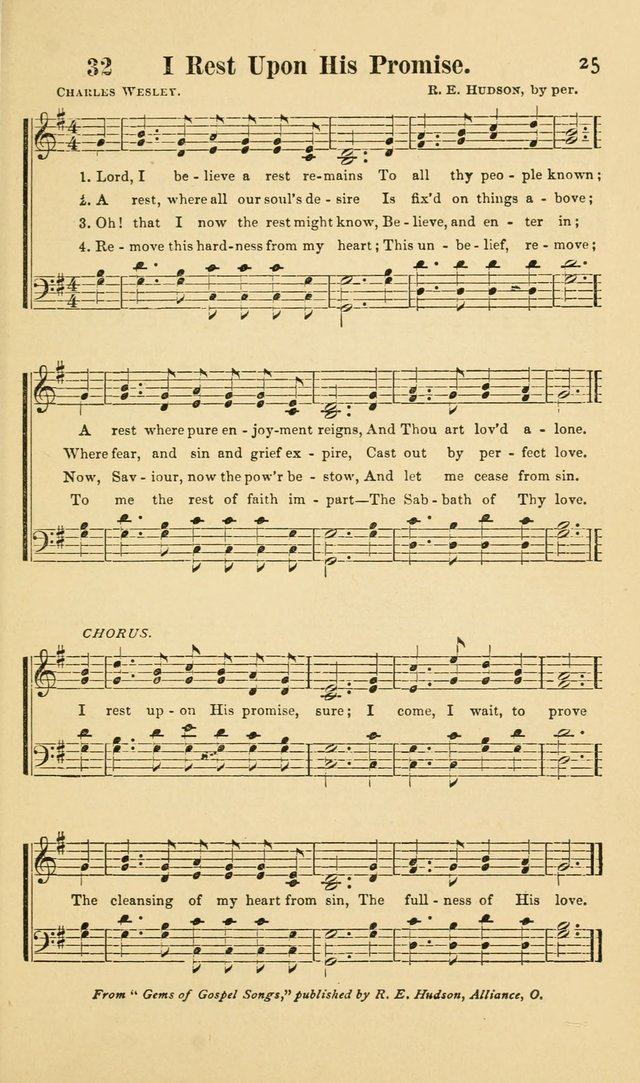 Beulah Songs: a choice collection of popular hymns and music, new and old. Especially adapted to camp meetings, prayer and conference meetings, family worship, and all other assemblies... page 26