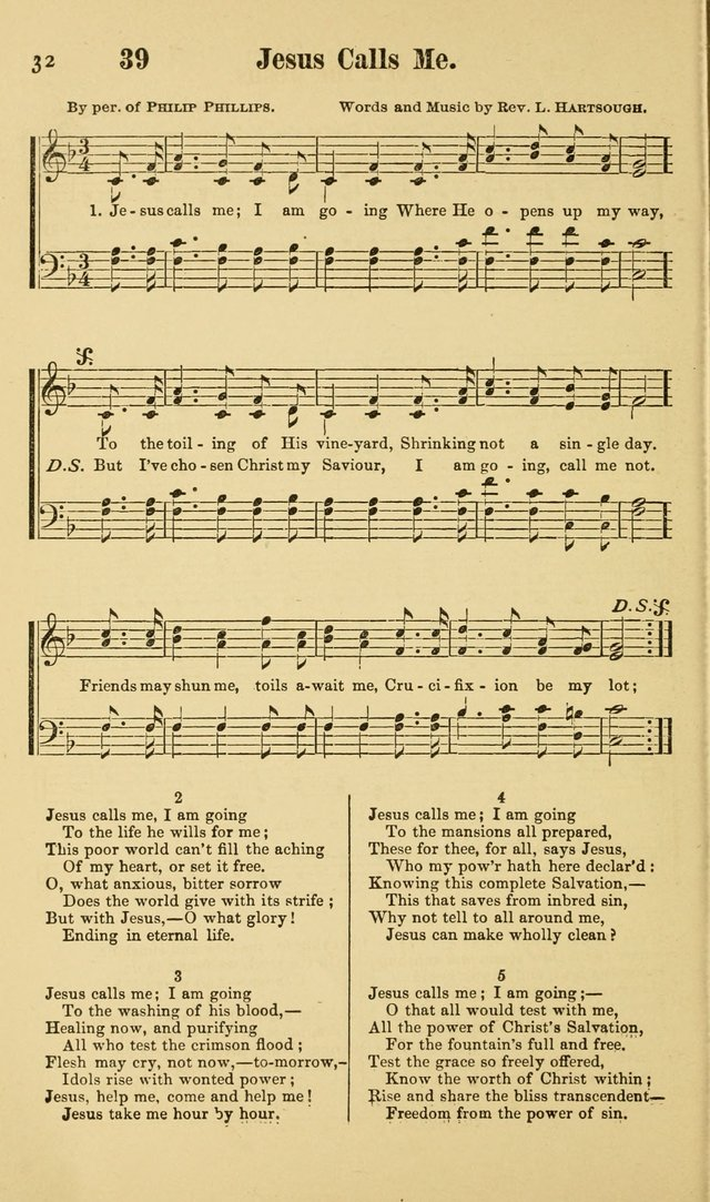 Beulah Songs: a choice collection of popular hymns and music, new and old. Especially adapted to camp meetings, prayer and conference meetings, family worship, and all other assemblies... page 33