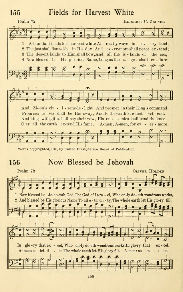 Bible Songs: a selection of psalms set to music, for use in