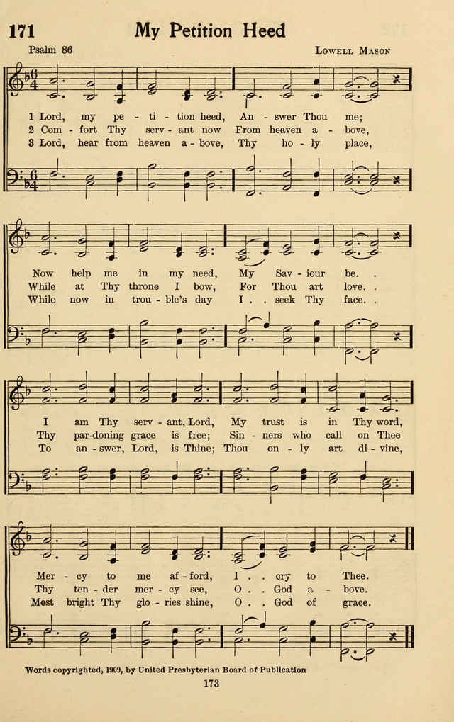 Bible Songs: a selection of psalms set to music, for use in sabbath schools, adult Bible classes, young people
