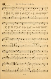 Lyric lyrics to shout to the lord : Sing a New Song to the Lord God | Hymnary.org