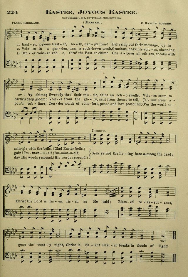 The Bible School Hymnal page 214