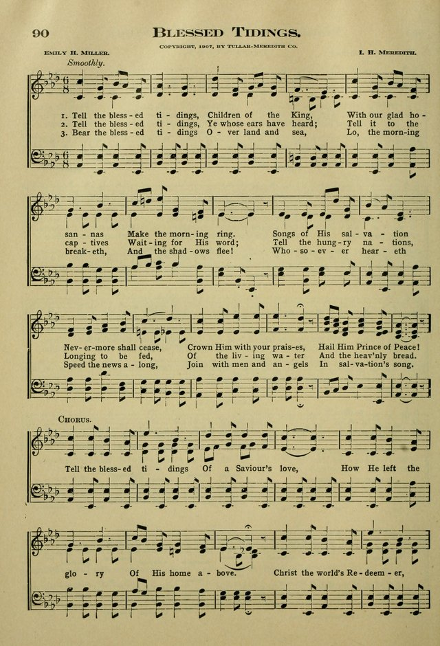 The Bible School Hymnal page 99