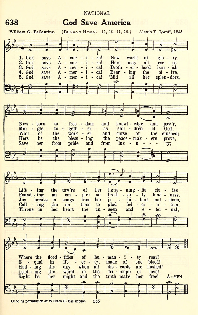 The Baptist Standard Hymnal with Responsive Readings page 547