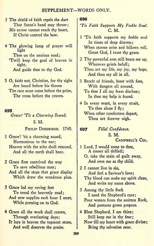 The Baptist Standard Hymnal with Responsive Readings page 581