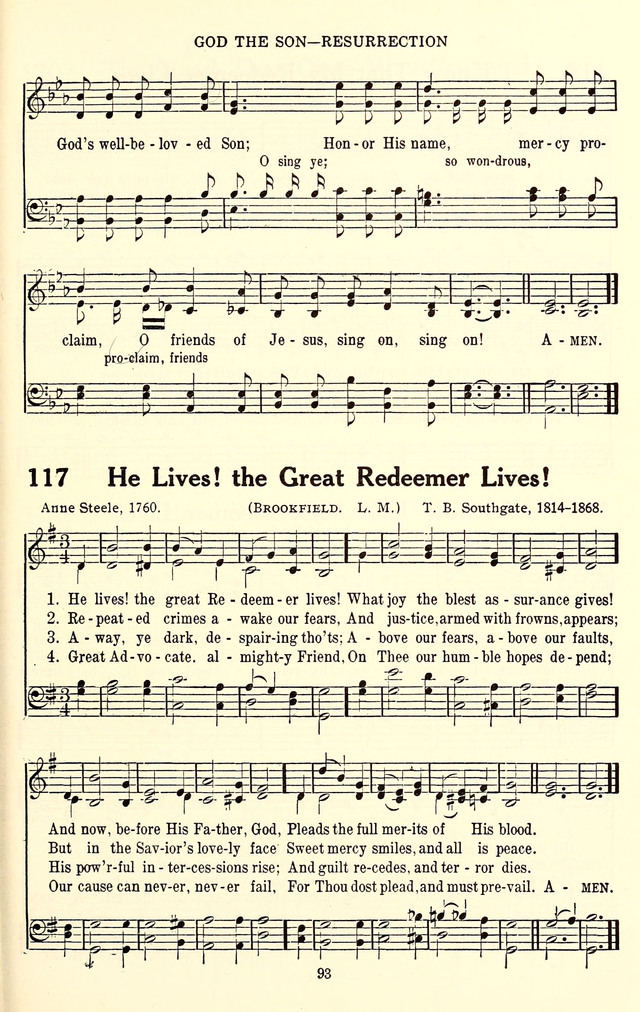 He lives, the great Redeemer lives - Hymnary.org