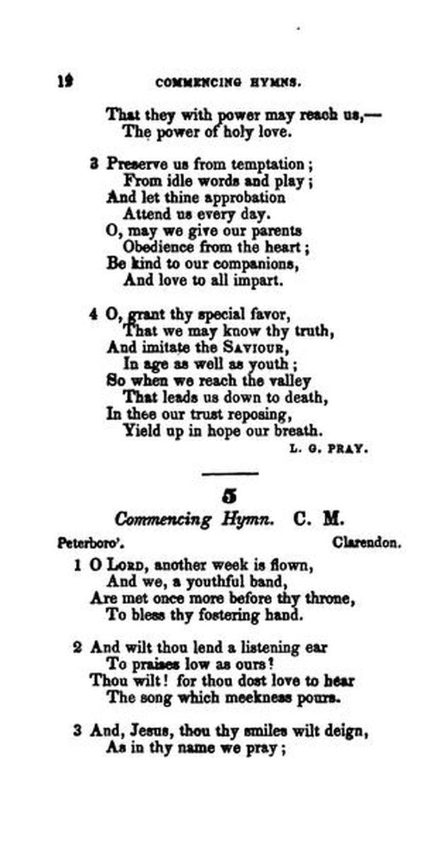 The Boston Sunday School Hymn Book: with devotional exercises. (Rev. ed.) page 11