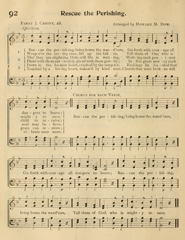 A Book of Song and Service: for Sunday school and home page 175