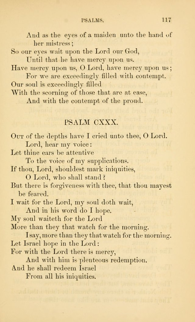 Book of vespers: an order of evening worship ; with select Psalms and hymns. page 124