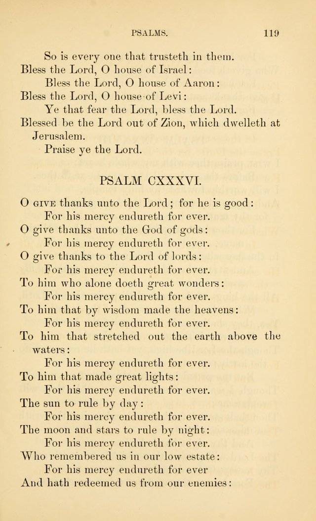 Book of vespers: an order of evening worship ; with select Psalms and hymns. page 126