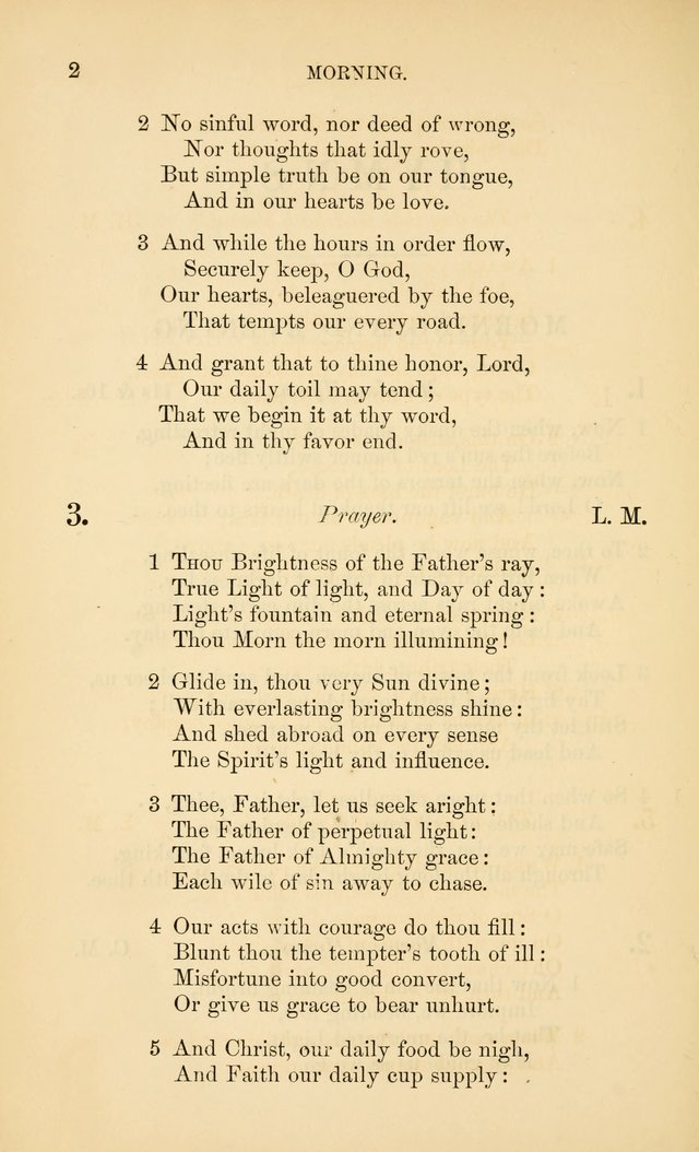 Book of vespers: an order of evening worship ; with select Psalms and hymns. page 139