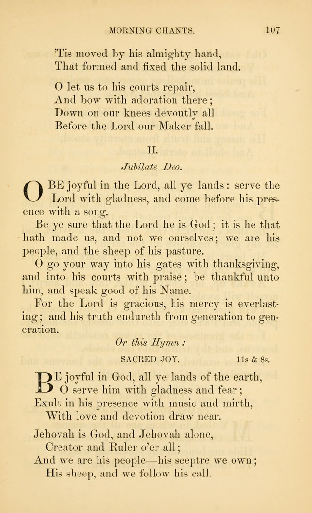Book of vespers: an order of evening worship ; with select Psalms and hymns. page 244