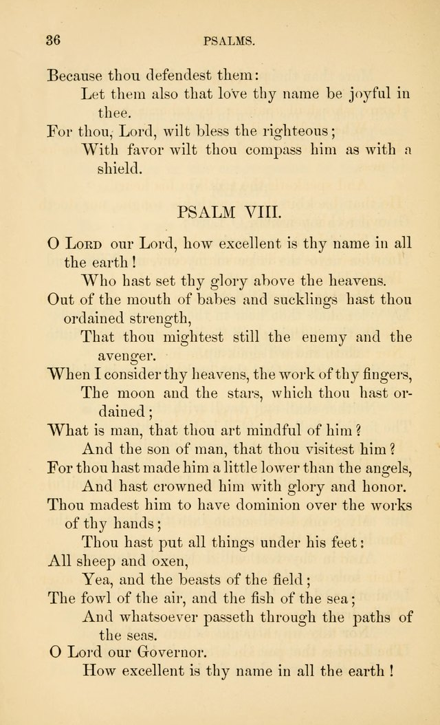 Book of vespers: an order of evening worship ; with select Psalms and hymns. page 43