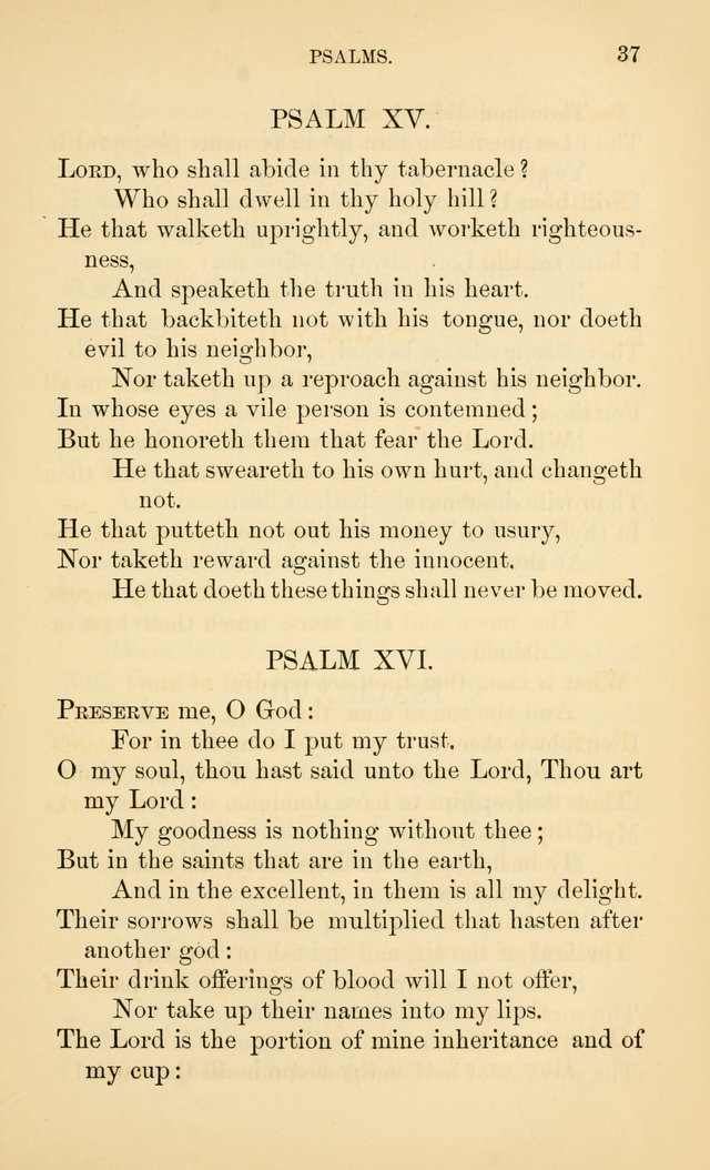 Book of vespers: an order of evening worship ; with select Psalms and hymns. page 44