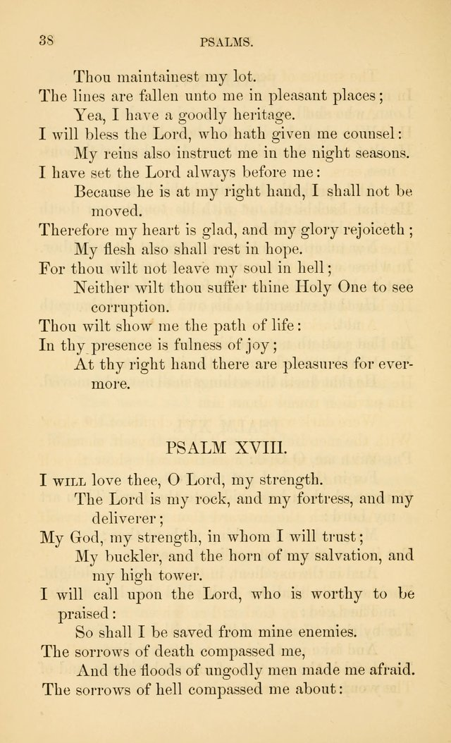 Book of vespers: an order of evening worship ; with select Psalms and hymns. page 45