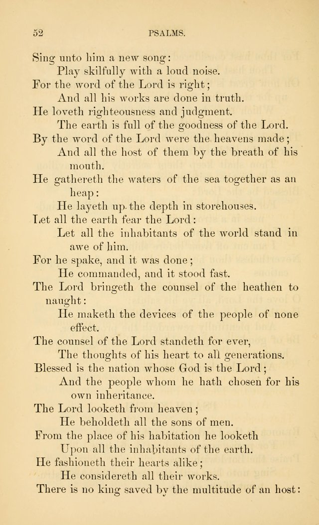 Book of vespers: an order of evening worship ; with select Psalms and hymns. page 59