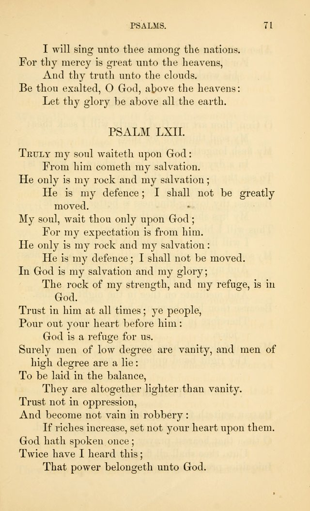 Book of vespers: an order of evening worship ; with select Psalms and hymns. page 78