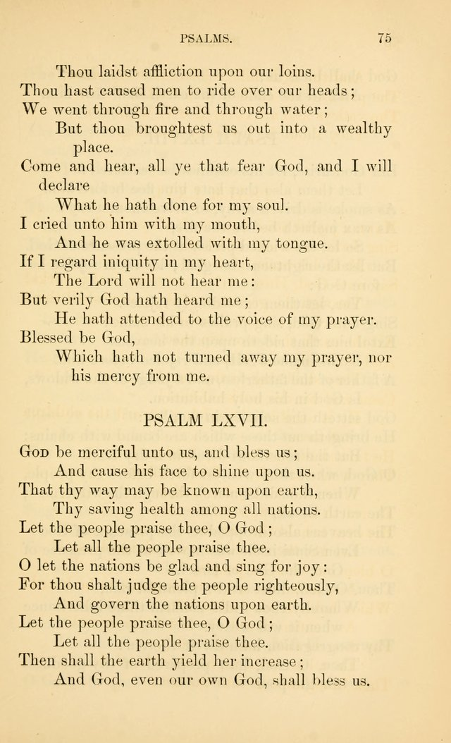 Book of vespers: an order of evening worship ; with select Psalms and hymns. page 82