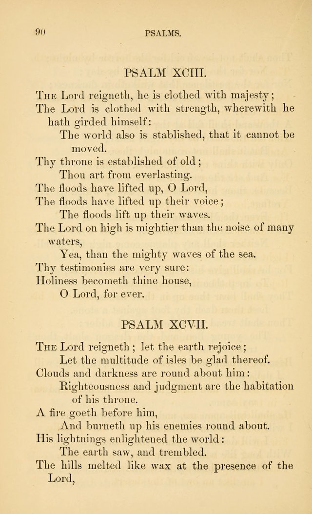 Book of vespers: an order of evening worship ; with select Psalms and hymns. page 97