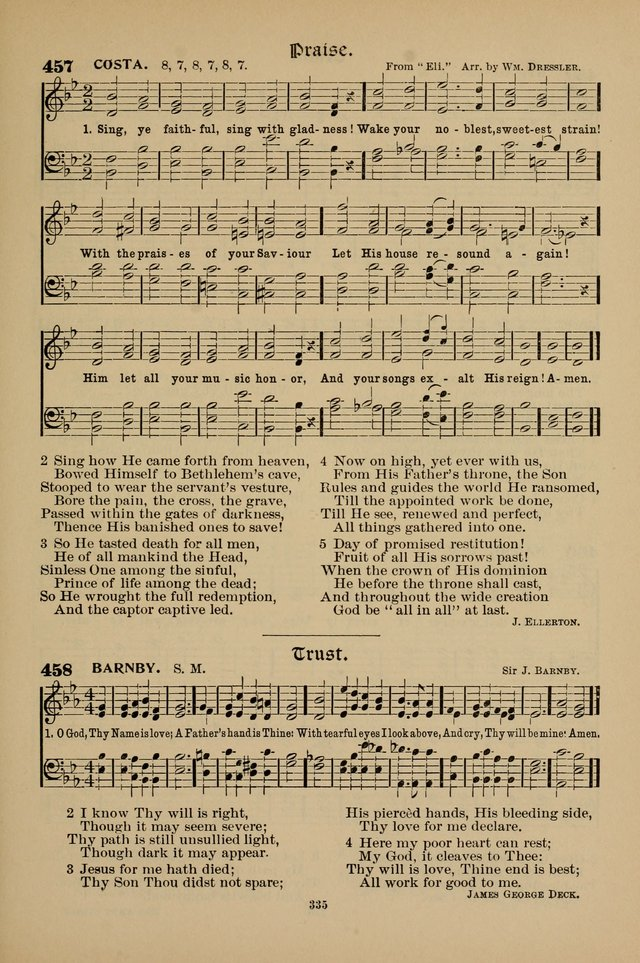 Hymnal Companion to the Prayer Book with Accompanying Tunes (Second Edition) page 336