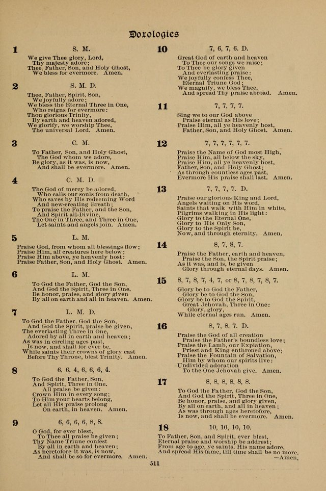 Hymnal Companion to the Prayer Book with Accompanying Tunes (Second Edition) page 512