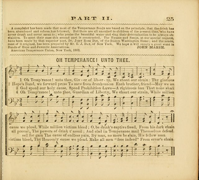 Band of Hope Melodies: adapted to Band of Hope, Cadet. and other temperance meetings. In two parts. page 26