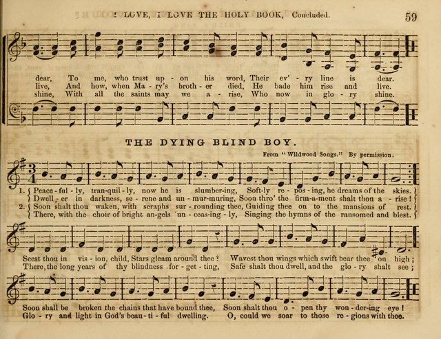 The Cherub: a collection of songs for Sabbath schools and Sabbath evenings page 67