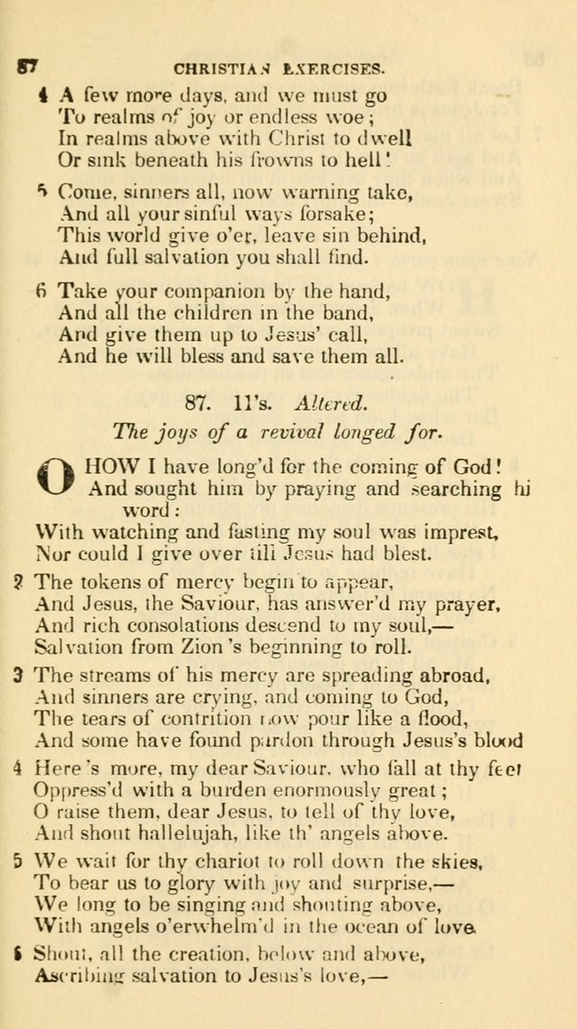 The Choice: in two parts; Part I, containing Psalms and hymns, Part II, containing spiritual songs; designed for public and private worship (6th ed.) page 394