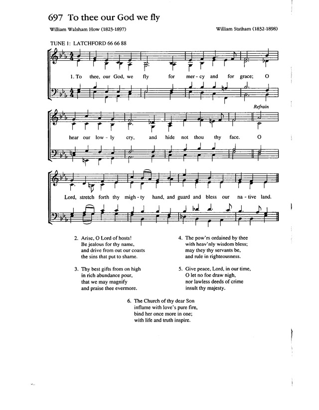 Complete Anglican Hymns Old and New page 1154