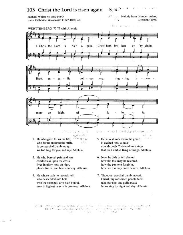 Lyric risen lyrics : Christ the Lord is risen again! | Hymnary.org