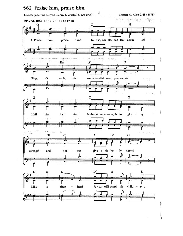 Complete Anglican Hymns Old and New page 930