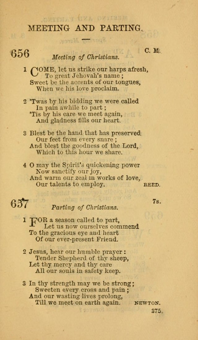 The Canadian Baptist Hymn Book page 375