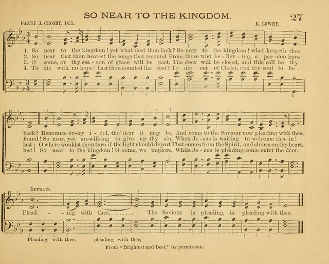 The Chautauqua Collection: a compilation of favorite Sunday school songs prepared for the use at the Chautatuqua Sunday School Teachers