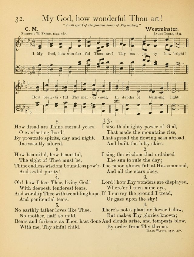 Christian Chorals, for the Chapel and Fireside page 37