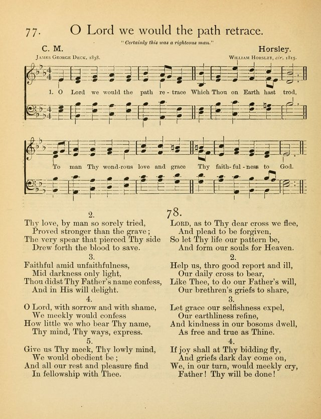 Christian Chorals, for the Chapel and Fireside page 75