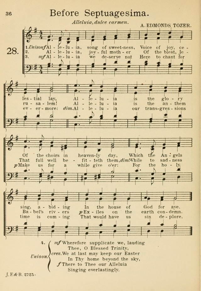 Alleluia catholic mass song