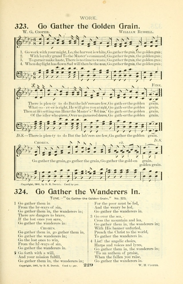 The Christian Church Hymnal page 300
