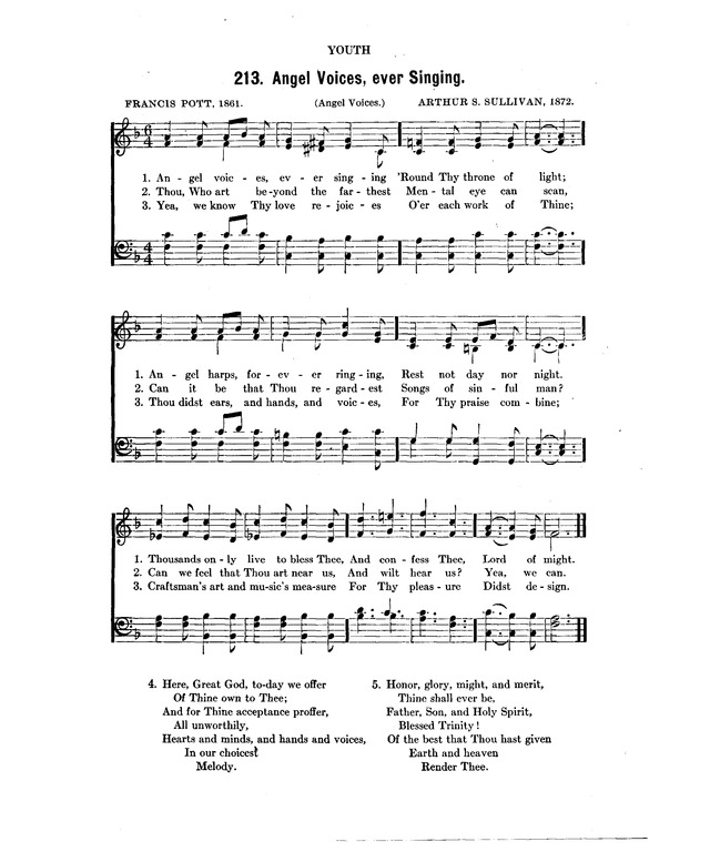 Concordia: a collection of hymns and spiritual songs 213  Angel
