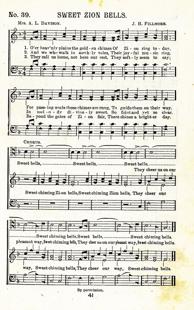 Lyric in sweet by and by lyrics : Sweet Zion Bells | Hymnary.org
