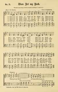 Lyric blessed redeemer lyrics : Thou art my Rock, O blessed Redeemer | Hymnary.org
