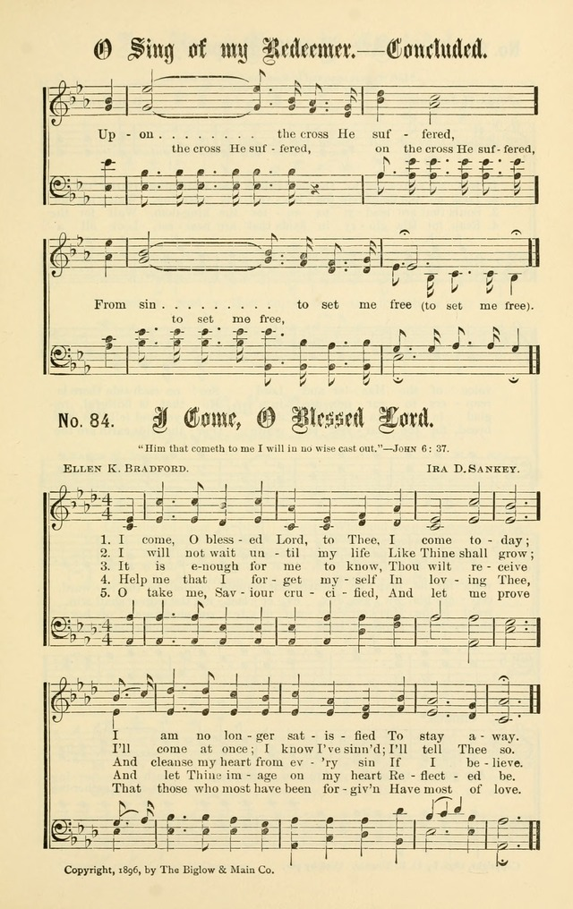 Christian Endeavor Edition of Sacred Songs No. 1 page 92