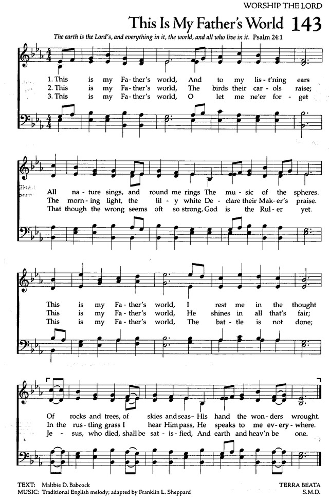 The Celebration Hymnal: songs and hymns for worship 143