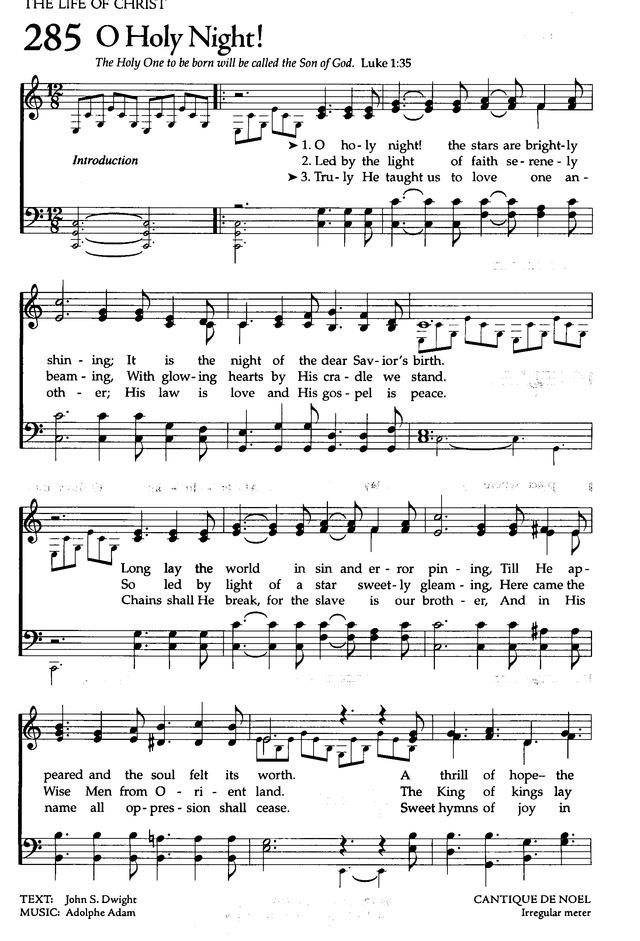 o holy night lyrics pdf