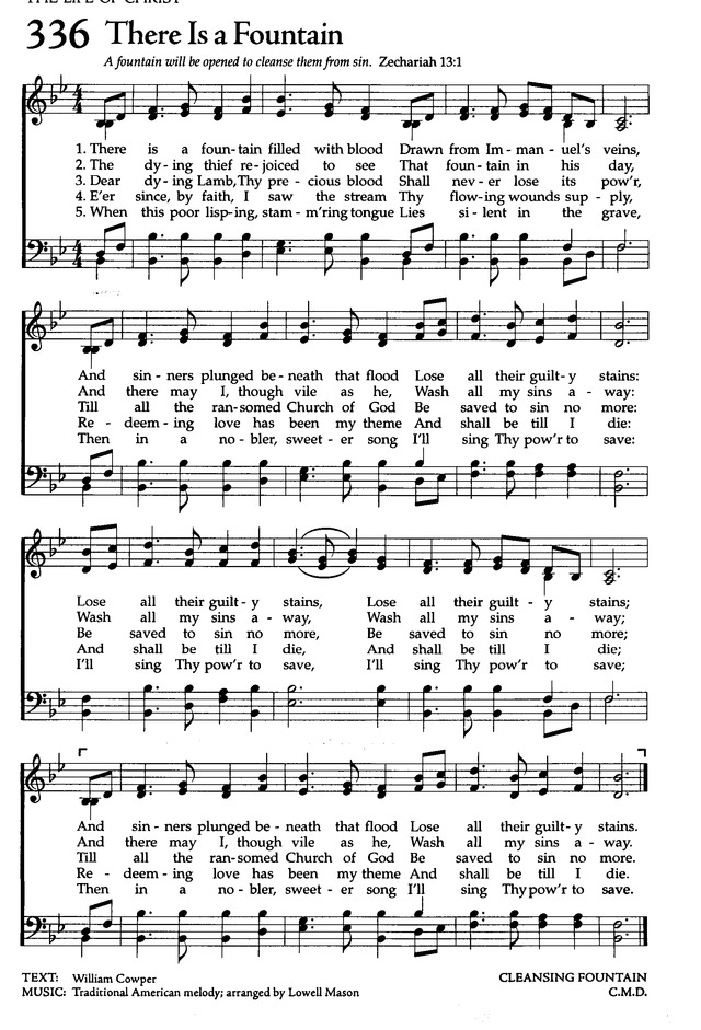The Celebration Hymnal: songs and hymns for worship page 328