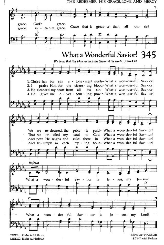 What a Wonderful Savior   Hymnary.org