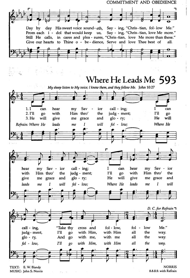 The Celebration Hymnal: songs and hymns for worship page 571